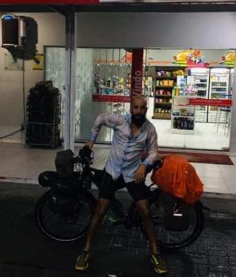 Moroccan-Dutch Biker Forms Bonds with Moroccans Around the World
