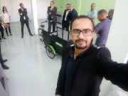 Karim Kanoute taking a selfie with Brahim Belghiti, Aziz Rabbah