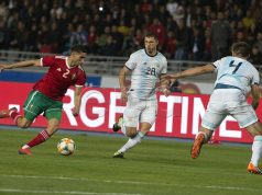 Messi-Less, Underwhelming Argentina Dominates Morocco 1-0
