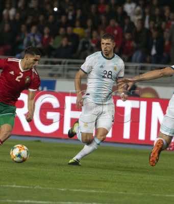 Messi-Less, Underwhelming Argentina Dominates Morocco 1-0