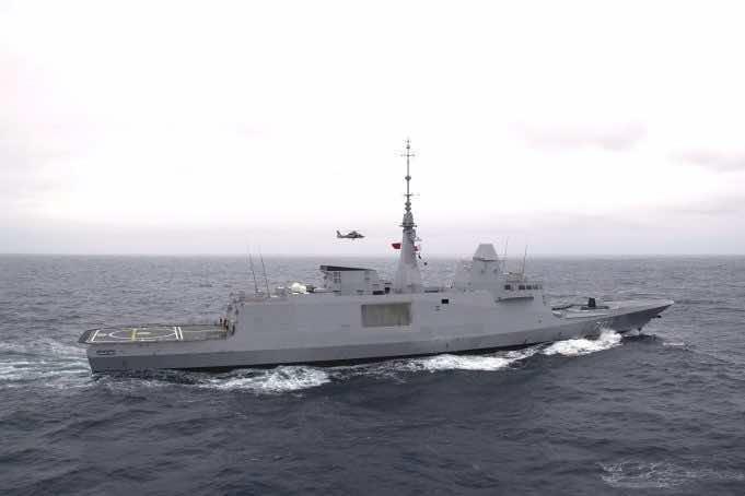 Mohammed VI Frigate Joins Nigerian Maritime Obangame Express 19