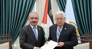 Palestinian President Mahmoud Abbas appointed Mohammad Shtayeh as prime minister