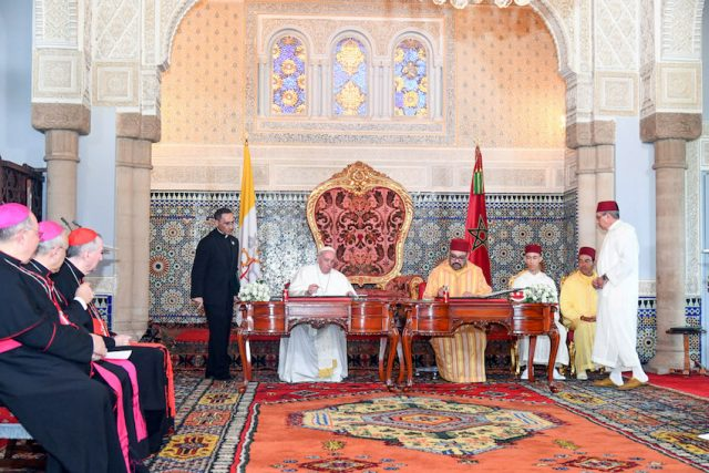 Pope Francis Visits Morocco March 30, 2019