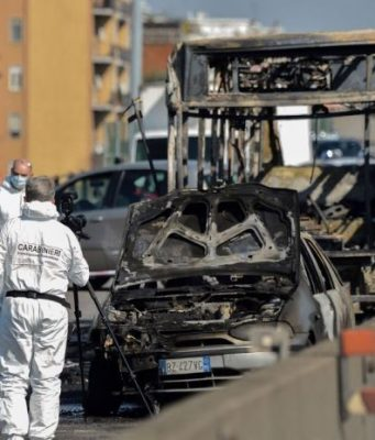 Italy School Bus Fire: Moroccan Boy Called Parents to Alert Police