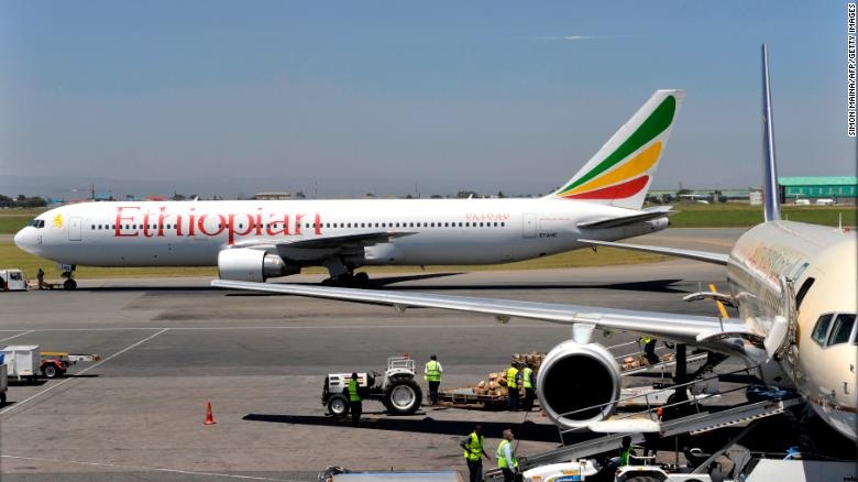Ethiopian Airlines flight to Nairobi crashes with 157 people on board