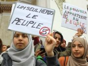 Mass Protests Swarm Algeria on Women's Day, Police Arrest Nearly 200