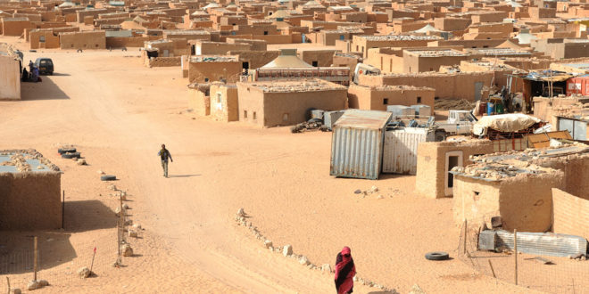 60 Sahrawis Protest Once Again Polisario's Restrictions in Tindouf