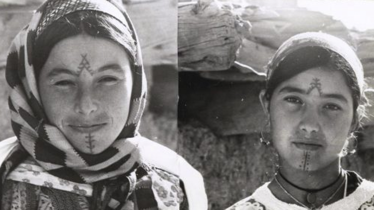 The Disappearing Tradition of Amazigh Facial and Body Tattoos