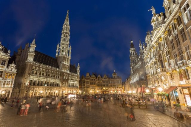 Moroccans in Brussels make up 9% of the city's foreign population.