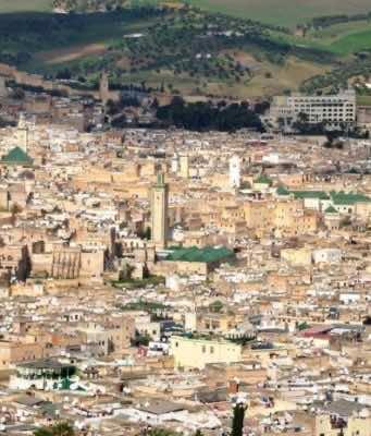 The medina in Fez