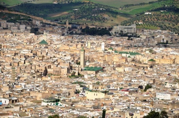 The medina in Fez