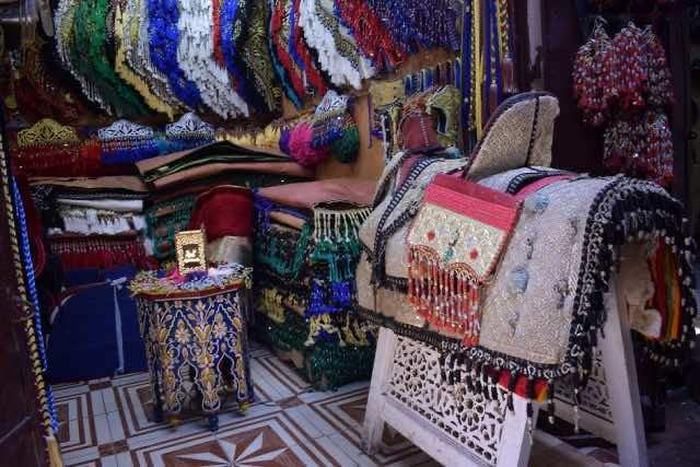 Handicrafts in Fez