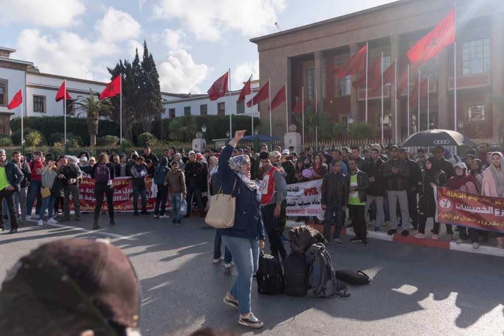 Teachers' Protest on International Women's Day
