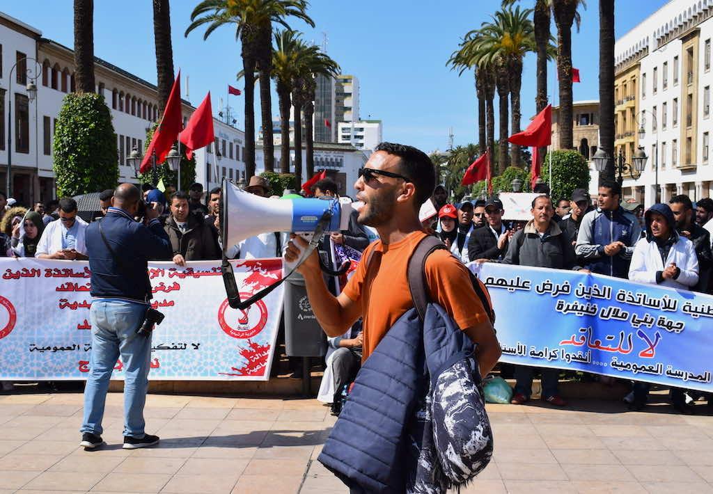 Morocco's Contractual Teachers to Resume Strikes