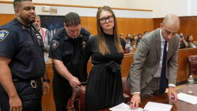 Fake Heiress Anna Sorokin Sentenced to Four Years in Prison