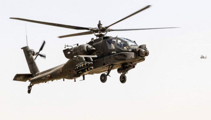 Morocco will acquire AH-64 Apache military helicopters
