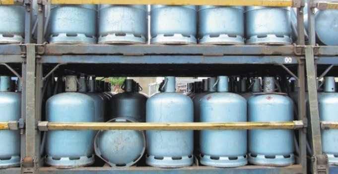 Butane Gas distribution Truck
