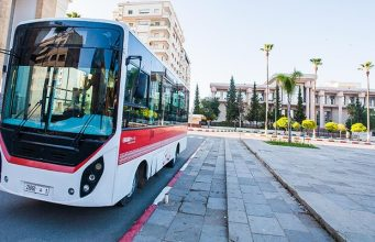 City bus is already operating in Meknes, Morocco. Photo credit: DR.