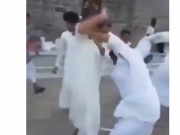 Video: Epic Fight Erupts Outside Mosque in Saudi Arabia