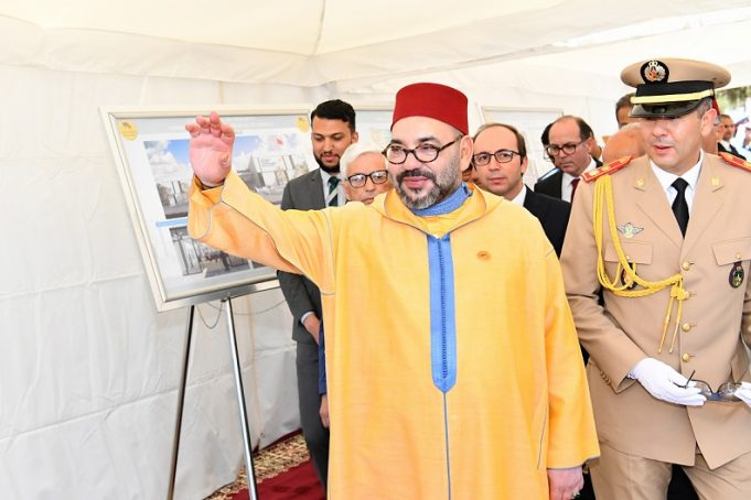 King Mohammed VI Launches Construction of New Medical Facility in Sale