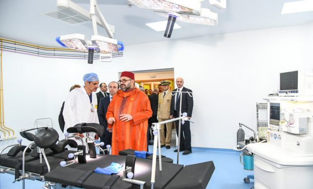 King Mohammed VI Opens a New Medical Center in Rabat