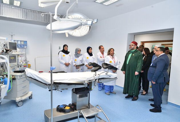 King Mohammed VI Inaugurates Medical Center in Casablanca
