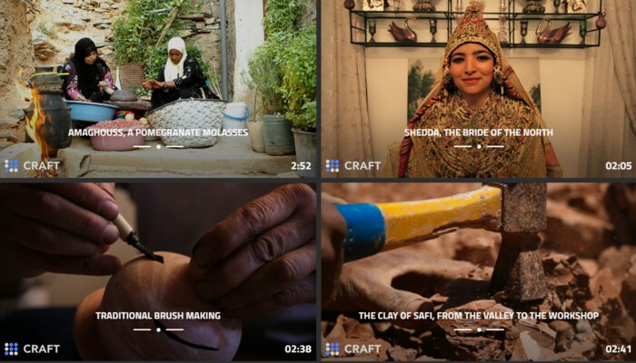 "Marocopedia collects stories about Morocco, like how to make ""amaghouss,"" in mini-documentaries."