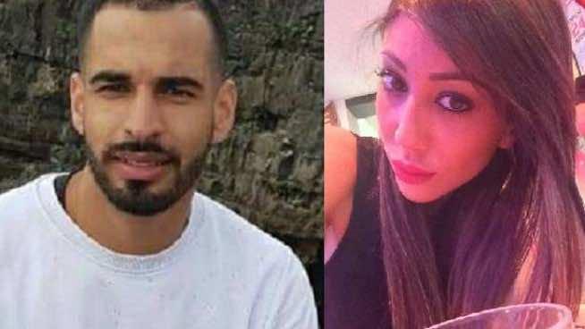 Moroccan-Italian Brahim Habbi and his fiancee