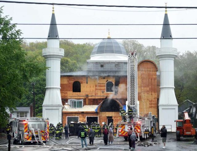 'Intentionally Set' Fire in a US Mosque, No Injuries Reported