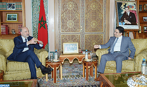 EU's Pierre Moscovici Vows to Deepen EU-Morocco Alliance