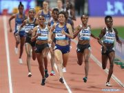 Moroccan Athlete Rababe Arafi Wins Thrilling Women's 1,500 Race in Shanghai