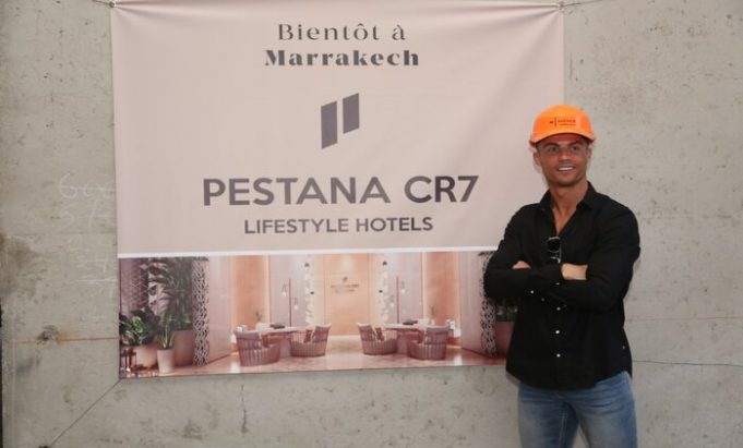 Ronaldo Spends Holiday in Marrakech, Visits His Own Hotel