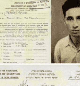 Former Israeli President Shimon Peres Arrived in Palestine as Refugee