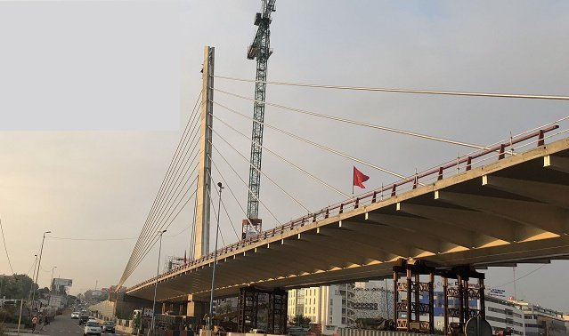 Sidi Maarouf Bridge in Casablanca Opens to Traffic