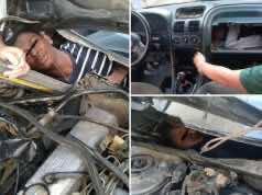 Spanish Police Find Teenage Migrants in Car Dashboard