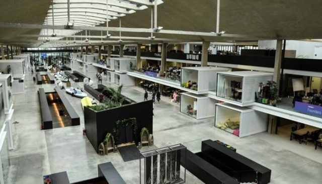 The Moroccan Minister for Industry Moulay Hafid Elalamy wants to set up a start-up incubation campus in Morocco, inspired by Station F in Paris (pictured). Photo credit: AFP.