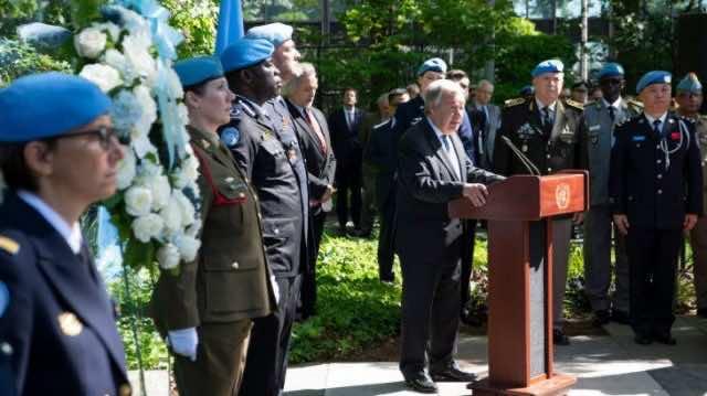 UN: Dag Hammarskjöld Medal Awarded to Moroccan Blue Helmet Posthumously