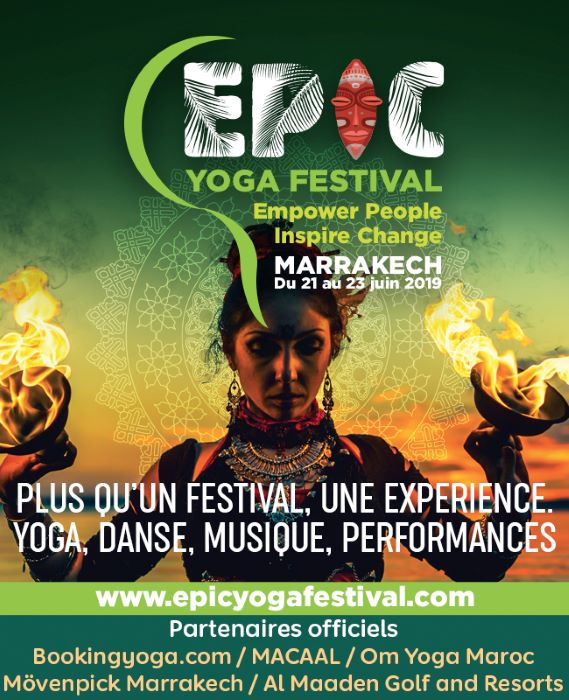 The EPIC Yoga Festival in Marrakech