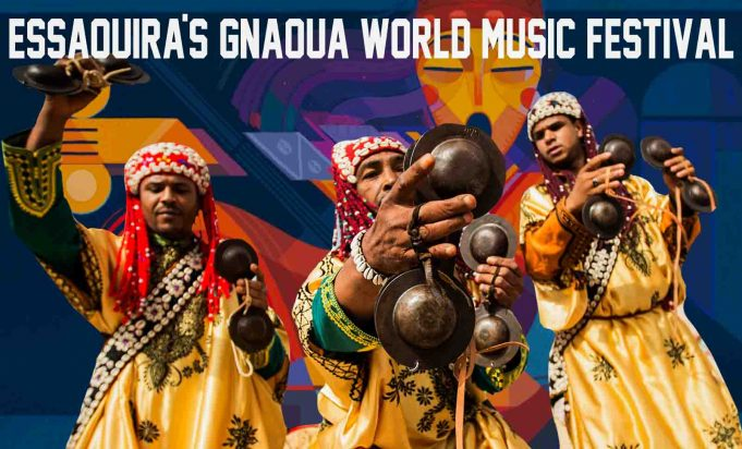 Essaouira's Gnaoua World Music Festival.