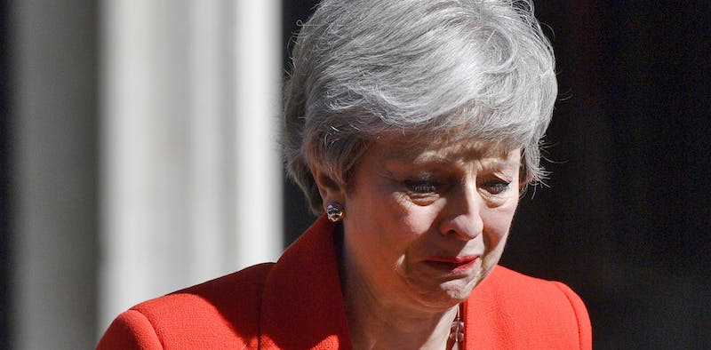 Image result for theresa may resign
