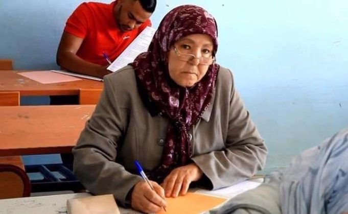 70-Year-Old Moroccan Woman Takes Baccalaureate Exam