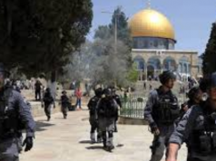 Israeli Forces Assault Palestinian Worshippers at Al-Aqsa Mosque
