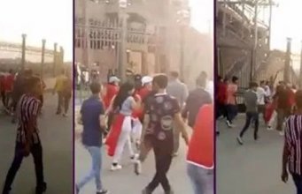 Egyptian Mob Harrases Moroccan Women After Morocco-Namibia Game
