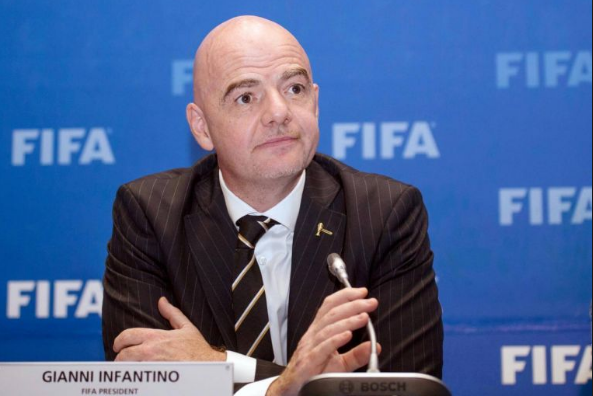 Gianni Infantino to Serve as FIFA Chairman for 2nd Term
