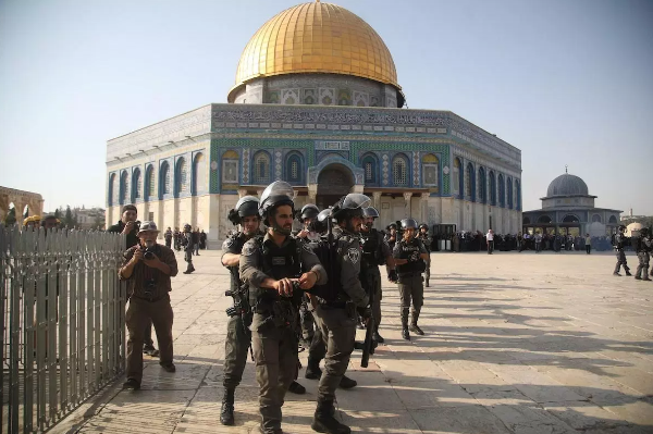 Israeli Forces, Settlers Storm Al Aqsa Mosque Again