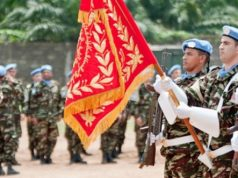 MONUSCO Forces Commander Honors Moroccan Peacekeepers in DRC