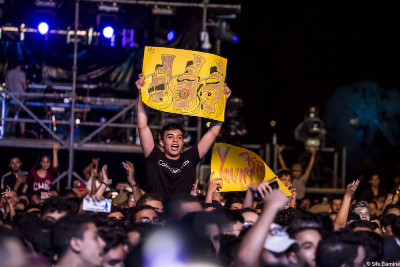 Last night, June 27, the performance of American hip hop trio Migos at Mawazine's OLM Souissi stage saw crowds in the thousands.