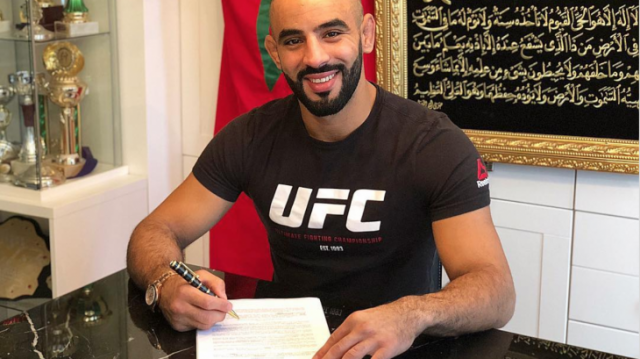 Moroccan MMA Fighter Ottman Azaitar to Fight Teemu Packalen.