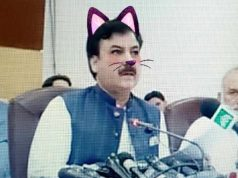 Pakistani Officials Accidentally Add Cat Filter to Live Press Conference