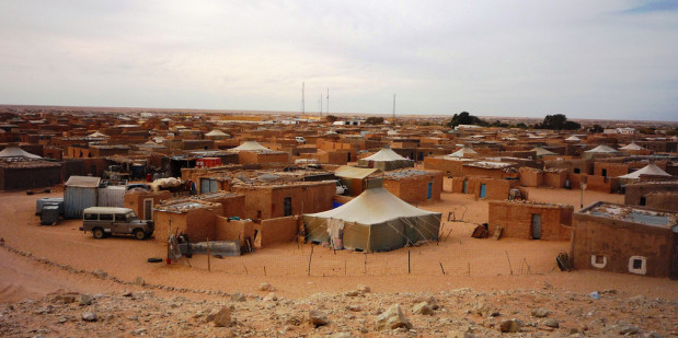 Son of Missing Polisario Member Collapses in Tindouf Sit-In